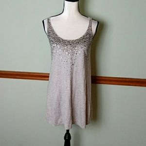 Eileen Fisher size small cotton cashmere top
